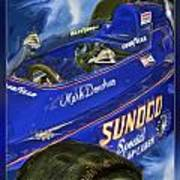 Mark Donohue 1972 Indy 500 Winning Car Poster by Blake Richards