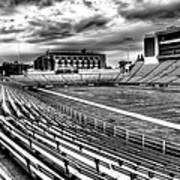 Martin Stadium On The Washington State University Campus Poster by David Patterson