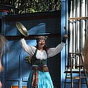 Maryland Renaissance Festival - A Fool Named O - 121223 Poster by DC Photographer