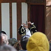 Maryland Renaissance Festival - Johnny Fox Sword Swallower - 121257 Poster by DC Photographer