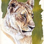 Massai Queen Poster by Aaron Blaise