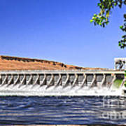 Mcnary  Hydroelectric Dam Poster by Robert Bales