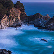 Mcway Falls Sunset Poster by About Light  Images
