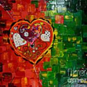 Mechanism Of Love Poster by Alexandru Rusu