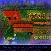 Meditation Number 4 Song Of Songs Poster by Maryann  DAmico