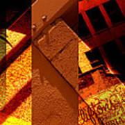 Merged - Orange City Poster by Jon Berry OsoPorto