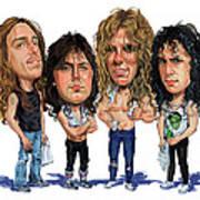 Metallica Poster by Art