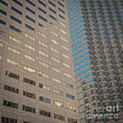 Miami Architecture Detail 2 - Square Crop Poster by Ian Monk