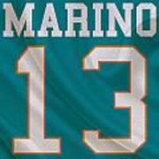 Miami Dolphins Dan Marino Poster by Joe Hamilton