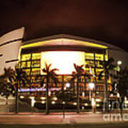 Miami Heat Aa Arena Poster by Andres LaBrada