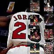 Michael Jordan Poster by Joe Hamilton