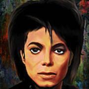 Michael Joseph Jackson  Poster by Andrzej Szczerski