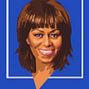 Michelle Poster by Douglas Simonson