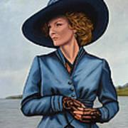Michelle Pfeiffer Poster by Paul Meijering