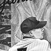 Mickey Mantle Poster by Scott  Hubbert