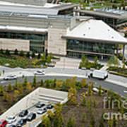 Microsoft Corporate Headquarter's West Campus Redmond Wa Poster by Andrew Buchanan via Latitude Image