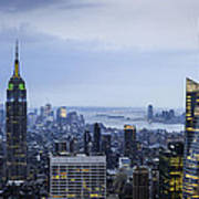 Midtown Manhattan Poster by Ray Warren