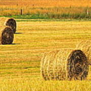Midwest Farming Poster by Frozen in Time Fine Art Photography