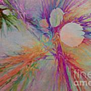 Mind Energy Aura Poster by Deborah Benoit