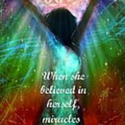 Miracles Happen Poster by Tara Catalano