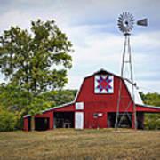 Missouri Star Quilt Barn Poster by Cricket Hackmann