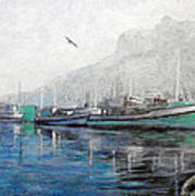Misty Morning In Hout Bay Poster by Michael Durst