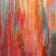 Mixed Emotions Poster by Debi Starr