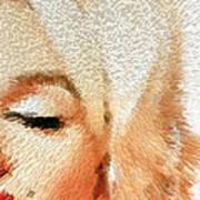 Modern Marilyn - Marilyn Monroe Art By Sharon Cummings Poster by Sharon Cummings