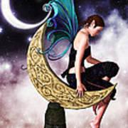 Moon Fairy Poster by Alexander Butler