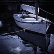 Moonlight Sail Poster by Amy Weiss