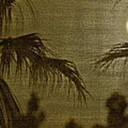 Moons Glow Poster by Gilbert Artiaga