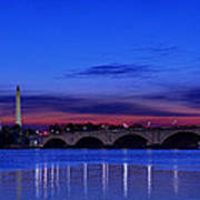 Morning Along The Potomac Poster by Metro DC Photography