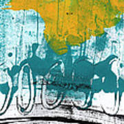 Morning Ride Poster by Linda Woods