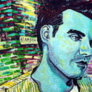 Morrissey Poster by Kat Richey