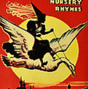 Mother Goose Poster by Bill Cannon