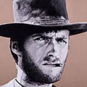 Mr. Eastwood Poster by Ellen Patton