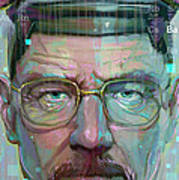 Mr. White Poster by Jeremy Scott