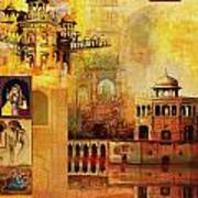 Mughal Art Poster by Catf