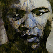 Muhammad Ali  A Change Is Gonna Come Poster by Paul Lovering
