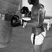 Ali Punching Bag Poster by Retro Images Archive