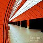 Munich Subway I Poster by Hannes Cmarits