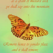 Mustard Seed Faith Poster by Larry Bishop