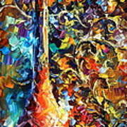 My Old Thoughts 2 Poster by Leonid Afremov