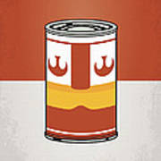 My Star Warhols Luke Skywalker Minimal Can Poster Poster by Chungkong Art