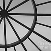 Mystic Wheel  Poster by Steven Milner