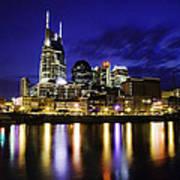 Nashville Skyline Poster by Lucas Foley