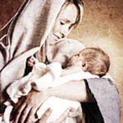 Nativity Poster by Cindy Singleton