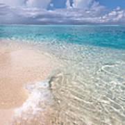 Natural Wonder. Maldives Poster by Jenny Rainbow