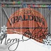 Nba Basketball Poster by Joe Hamilton