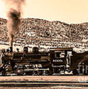 Nevada Northern Railway Poster by Robert Bales